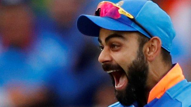 India v Pakistan: Virat Kohli's team will 'risk injury' to save runs in bid to win World Cup thumbnail