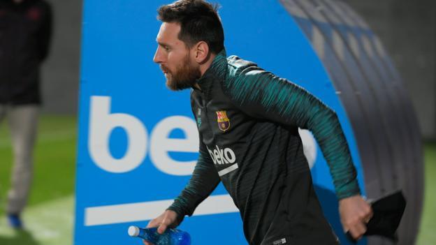 Barcelona v Borussia Dortmund: Lionel Messi set for 700th Barca game thumbnail