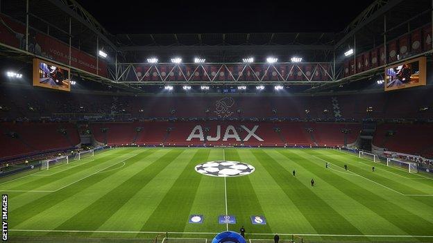 Ajax's Johan Cruyff Arena