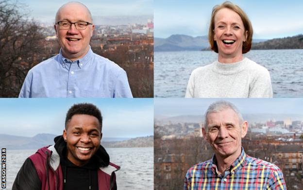 Volunteers for Glasgow 2018