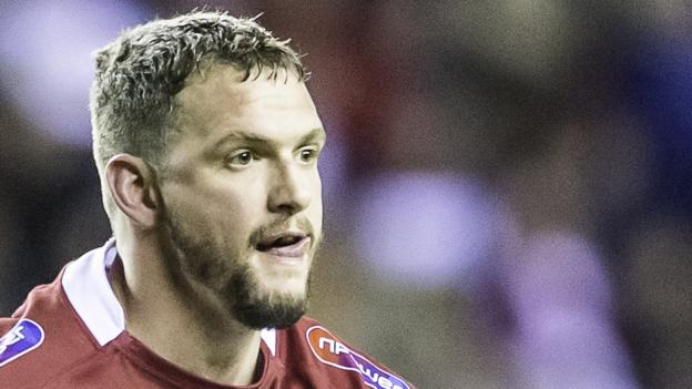 Sean O'Loughlin: Wigan Warriors captain signs deal to end career at club - BBC Sport
