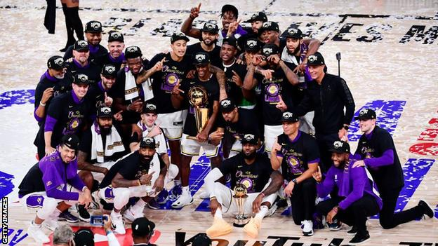 LeBron James leads Lakers to first NBA title in a decade thumbnail