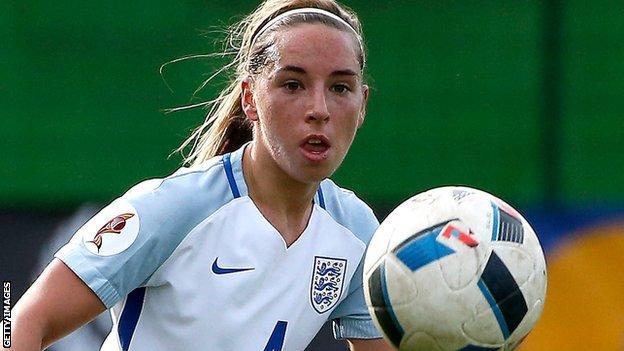 England Women's Jordan Nobbs
