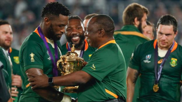 Siya Kolisi and South Africa's triumph 'a story to inspire far beyond the rugby pitch' thumbnail