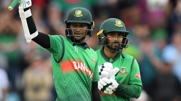 Cricket World Cup: Bangladesh chase 322 to beat West Indies thumbnail
