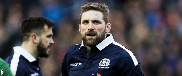Scotland captain John Barclay