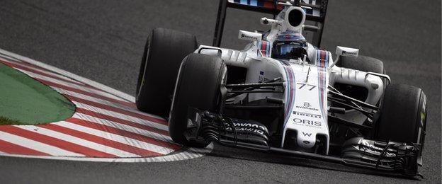 Valtteri Bottas during the Japanese Grand Prix