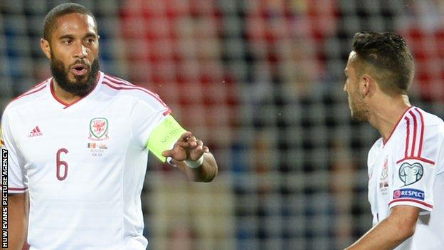 Ashley Williams (left) and Neil Taylor