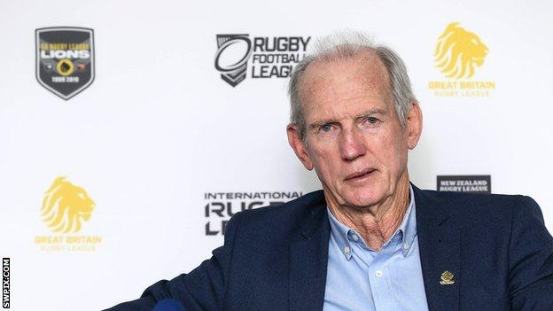 Wayne Bennett's contract with the Rugby Football League runs out at the end of the 2019 Great Britain Lions tour