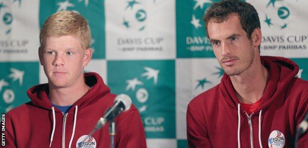 Andy Murray took Kyle Edmund under his wing in 2014
