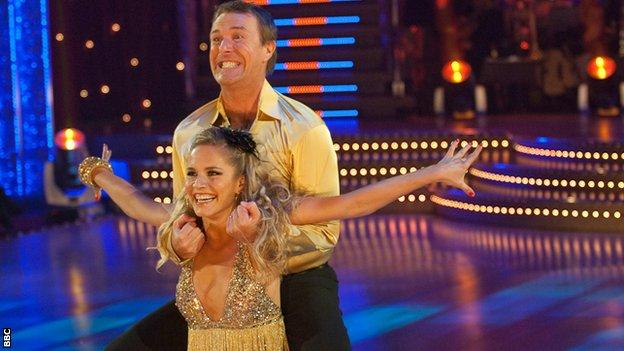 Tuffers on Strictly