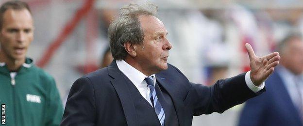 Slovakia coach Jan Kozak