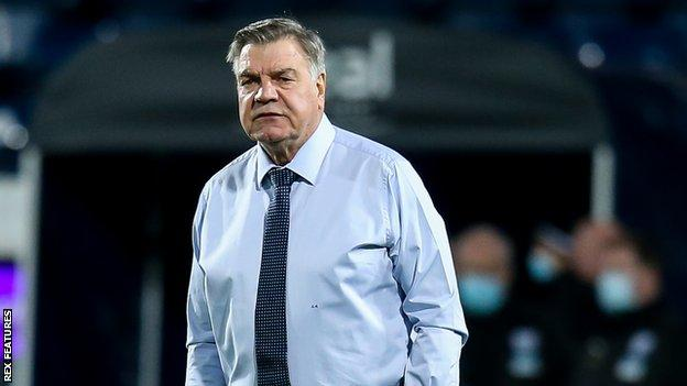West Brom manager Sam Allardyce during his side's 5-0 home defeat to Leeds United