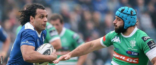 Isa Nacewa produced a tremendous display for Leinster
