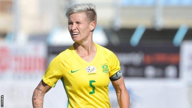 South Africa captain Janine Van Wyk