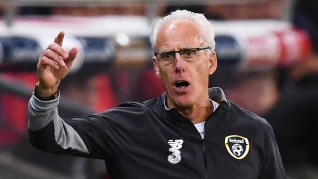 Mick McCarthy relishing Euro 2020 qualifying 'cup final' with Denmark after Swiss defeat thumbnail