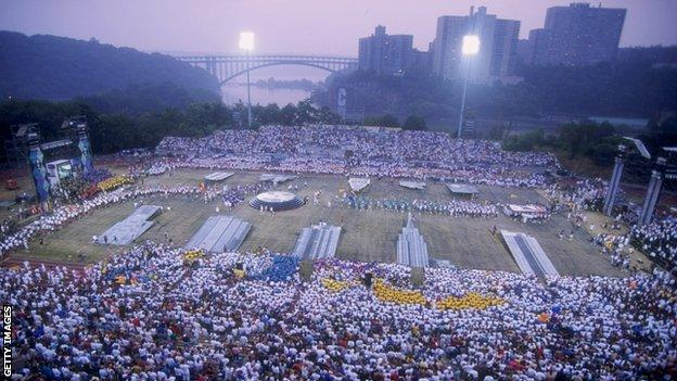 New York hosted the 1994 Gay Games