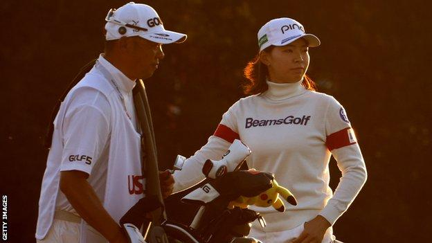 Weather delays Lydia Ko's shot at US Open title