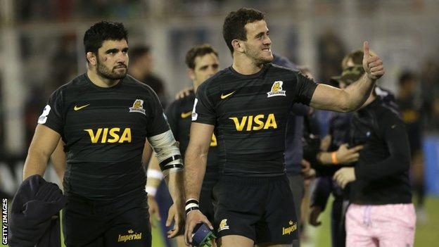Argentina's Super Rugby side Jaguares are in fine form having won their last six matches