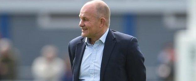 Bristol boss Andy Robinson