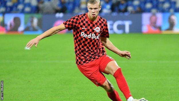 Erling Braut Haaland Borussia Dortmund Sign Striker From Red Bull Salzburg Bbc Sport