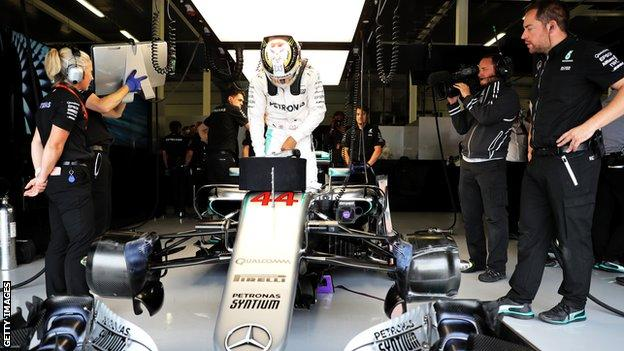 Lewis Hamilton leads the drivers' championship heading into the Belgian Grand Prix