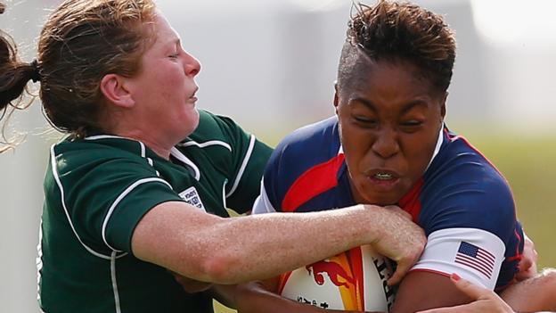 Ireland women to face USA Eagles in Dublin in November - BBC Sport