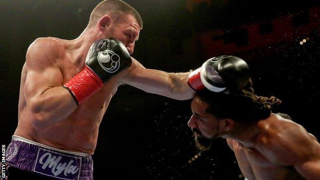 Liam Williams won seven successive fights to earn a shot at Demetrius Andrade