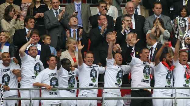Swansea promoted in 2011