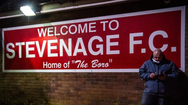 Coronavirus: Stevenage to make young players available to help people isolated by pandemic thumbnail