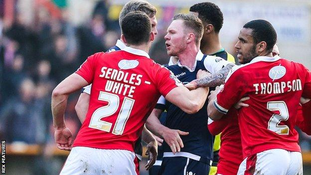 Swindon Town and Millwall