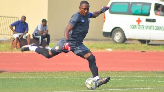 Dele Aiyenugba in action for Kwara United