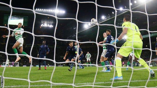 Celtic v Lazio
