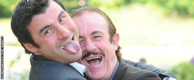 Joe and Enzo
