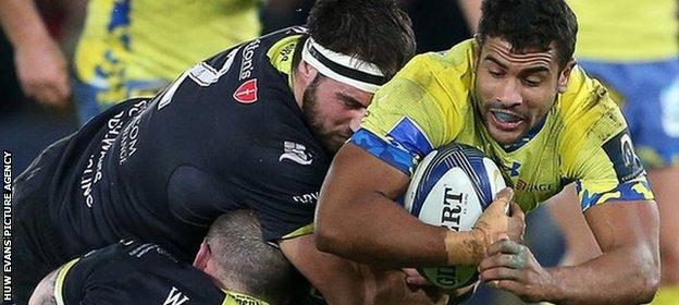 Wesley Fofana's try after six minutes gave Clermont the perfect start