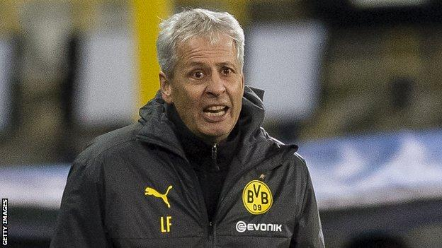 Favre managed Borussia Monchengladbach and Nice before a two-year spell at Dortmund