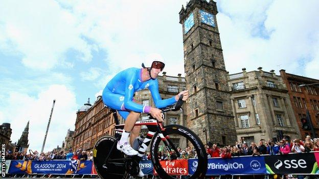 David Millar rode for Scotland in the 2014 Commonwealth Games and is now a pundit and anti-doping campaigner