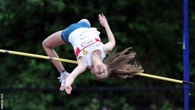 Sommer Lecky finished 10th in the high jump at the 2018 Commonwealth Games in Australia