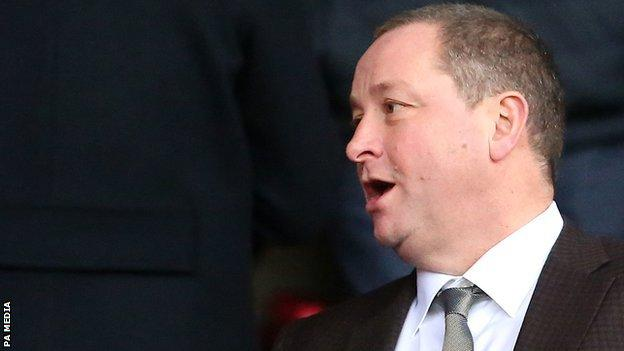 Mike Ashley had been in charge of Newcastle United since 2007