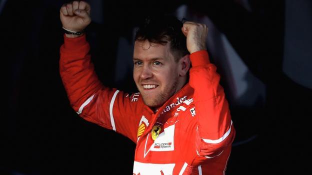 Sebastian Vettel beats Lewis Hamilton to win Australian ...