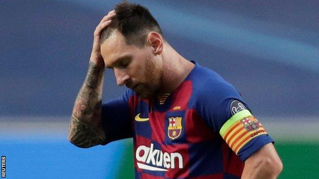 Lionel Messi-Manchester City in talks for €700m deal