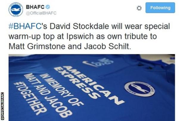 David Stockdale shirt