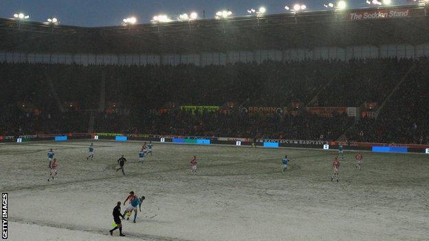 Stoke in the winter