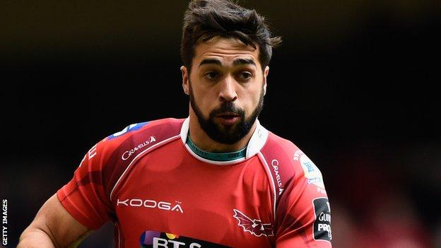 Gareth Owen has featured in 21 of Scarlets' competitive games this season