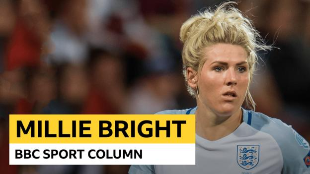 Millie Bright column: England defender on World Cup hopes, Whatsapp chats and horse riding thumbnail