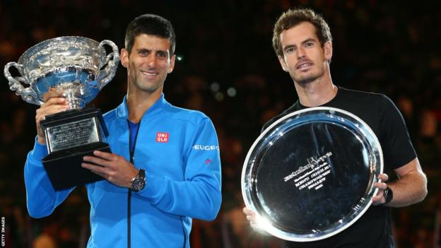 Andy Murray lost in his fourth Australian Open final