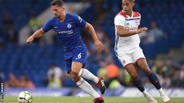 Chelsea midfielder Danny Drinkwater