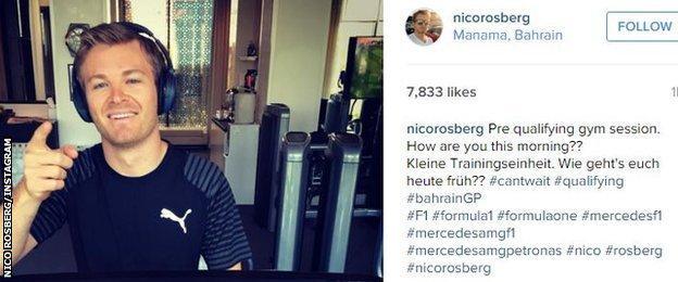 Nico Rosberg/Instagram