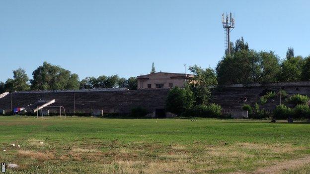 The old Voskhod ground