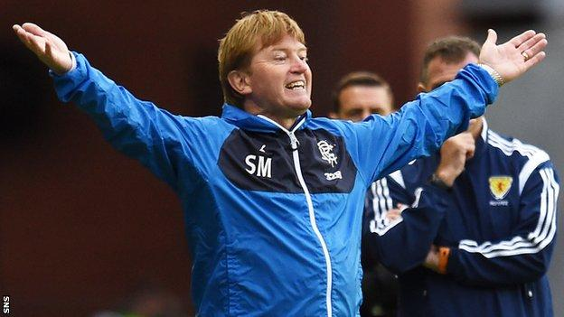 Stuart McCall's last job in Scotland was with Rangers